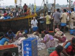 Fishing village in Versova