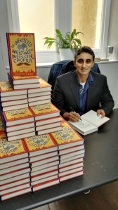 Signing at Goldsborough bookshop