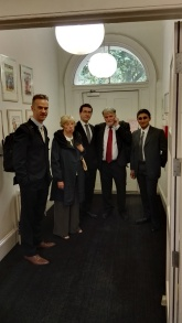 The dream team - my colleagues at UCL Dept of Security and Crime Science