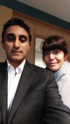 With Claudia Winkleman on her BBC Radio 2 show